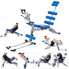 Gym Abdominal AB Rocket Bench Workout Fitness Exercise Machine Trainer Stepper