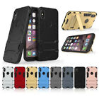Hybrid Bumper With Kickstand Protector iPhone Cover Case For Apple iPhone X