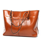 Women Oil Leather Tribal Handbag Genuine Leather Tote Bag Retro Shoulder Bag