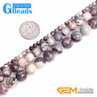 """New Natural Porcelain Jasper Brown Round Beads for Jewelry Making Strand 15"""""""