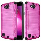 Brushed Hard TPU Case Cover For LG X Charge/X Power 2/Fiesta LTE Phone