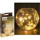 10/20/40 Warm White LED Battery Micro Rice Wire Copper Fairy String Lights Party