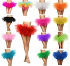 Adults Women Teen Girl 5 Layered Ballet Skirt Tulle Costume Party Dancewear