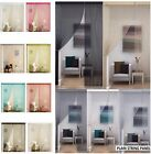 PLAIN STRING PANEL NET DOOR WINDOW DOORWAYS CURTAIN ROOM DIVIDER SLOT TOP