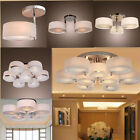 Modern Acrylic Chandelier Round Lights Ceiling Fixture Flush Mount Pendant Lamp