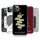 OFFICIAL HBO GAME OF THRONES GRAPHICS HARD BACK CASE FOR APPLE iPHONE PHONES