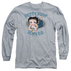 Betty Boop JEAN CO Ad Licensed Adult Long Sleeve T-Shirt S-3XL $32.93 USD on eBay