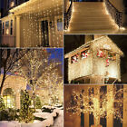 Warm White 100/200/300 LED String Fairy Lights Xmas Christmas Party Lamp