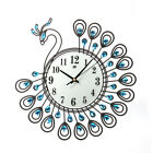 Vintage Style Peacock Antique Wall Clock for Home Kitchen Office Room US Stock