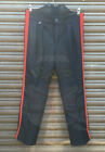 BRITISH ARMY SURPLUS ISSUE NO.1 DRESS UNIFORM PARADE TROUSERS 2.5cm RED STRIPE
