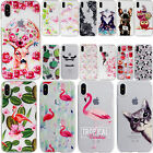Colorful Pattern Rubber Gel TPU Shockproof Case Cover For iPhone X 8 Plus 6s 7+