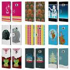 HEAD CASE DESIGNS MIX CHRISTMAS COLLECTION LEATHER BOOK CASE FOR HTC U ULTRA