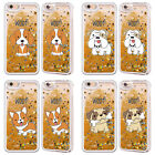 HEAD CASE DESIGNS PUPPIES GOLD GLITTER CASE FOR APPLE iPHONE SAMSUNG PHONES