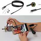 7.0MM Lens 2 in 1 USB Inspection Camera 6 Pcs Adjustable LED Lights Waterproof