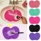 Silicone Makeup Brush Cleaners Pad Brush Cleaner Womens Ladies Scrubber 6 Colors