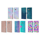 HEAD CASE DESIGNS MERMAID SCALES LEATHER BOOK WALLET CASE COVER FOR HTC PHONES 1