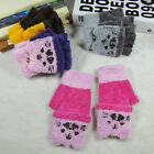 Cute Baby Girls Boys Winter Warm Gloves Newborn Thicken Cartoon Mittens Gloves