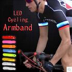 LED Safety Belt Strap Armband Running Cycling Sports Buckle Wrap Belt Bar