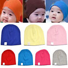 New Baby Unisex Toddler Infant Boys Girls Beanie Hat Soft Cute Cap Cotton
