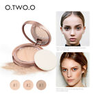 8 Colors Waterproof Facial Pressed Powder Oil-Control Brighten Flawless Cosmetic