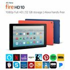 "Amazon Fire HD 10 Tablet w/ Alexa 10.1"" Display 7th Generation 2017"