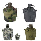 Outdoor Tactical Military Camping Hiking Water Bottle Bag Kettle Pouch Holder