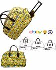 Small Minion Print Vintage Holdall Trolley Bag Travel Case Hand Luggage Holiday