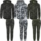 Boys Geometric Camouflage Print Trousers or Jumper Kids Jogging Bottoms 3-14 Y