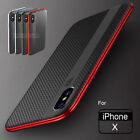 For iPhone X 8 7 iPhone8 Plus Shockproof Hybrid Slim Hard Protective Case Cover