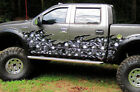 Car Truck Half Wrap Skull Wave Vinyl Auto Trailer Decal Graphics 5ft and up