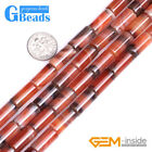 8x16mm Column Dream Lace Agate Beads for Jewelry Making Strand 15""