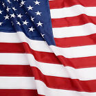 ANLEY Heavy Duty USA Nylon Flag United States American Embroidered Sewn Stripes