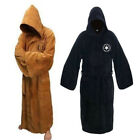 Star Wars Sleepwear Men's Robe Jedi Sith Hooded Bathrobe Pajamas Cloak Gown Coat $22.48 USD on eBay