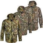 Mens Jungle Camouflage Army Thick Fleece Lined Coat Jacket Fishing Hunting M-XXL