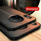 Shockproof Leather Pattern Soft Case Cover For Huawei Mate 10 P8 Lite Honor 9 6X