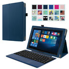 RCA 10 Viking Pro / Cambio W101 V2 / W101SA23T1S 10.1 Leather Case 2-in-1 Tablet