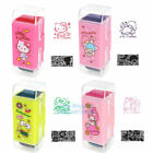 SANRIO KITTY MY MELOODY LITTLE TWIN STARS 2 IN 1 SECERT PRIVACY ROLLING STAMP