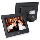 7'' HD Electronic Digital Photo Frame Calendar Album Picture Movie MP4 Player