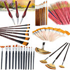 3/6/12pcs Artist Paint Brush Set Watercolor Acrylic Oil Painting Supplies Set for sale  Shipping to Canada