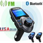 Victsing Bluetooth Car FM Transmitter Wireless AUX Radio Adapter USB Charger US