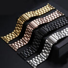 For Apple iwatch watch band 38mm/42mm Stainless Steel Watch Wrist Bracelet Strap