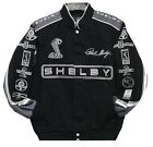 Authentic Carroll Shelby Embroidered Cotton Jacket JH Design Black New