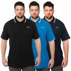 Slazenger Mens Casual Polo Shirt Plus Size Branded Short Sleeve Big Tee Top
