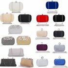 Women Evening Clutch Bag Wedding Party Bridal Ladies Hangbag Wallet Purse Prom
