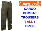 PROLOGIC CARGO TROUSERS FOR COMBAT HUNTING SHOOTING PIKE CARP ROD FISHING HIKING