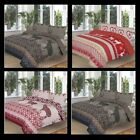 Christmas Bedding Set Duvet Cover With Pillow Case Single Double King Super King