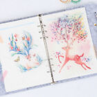 5Pcs/set Notebook Planner Partition Sheet Inside Page New 6 Hole Loose-leaf