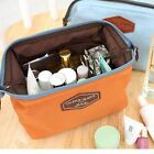 Travel Cosmetic Makeup Bag Toiletry Case Wash Organizer Storage Cotton Pouch New