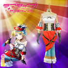 Love Live! Ayase Eli Pirate Awakening Cosplay Costume Outfit Mermaid Dress Adult