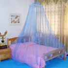 Lace Canopy Bed Curtain Dome Fly Midges Insect Cot Stopping Mosquito Net Set EH